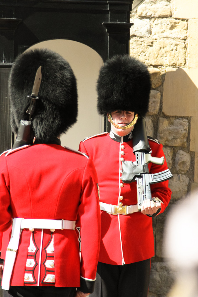 The Guards at the Tower of London