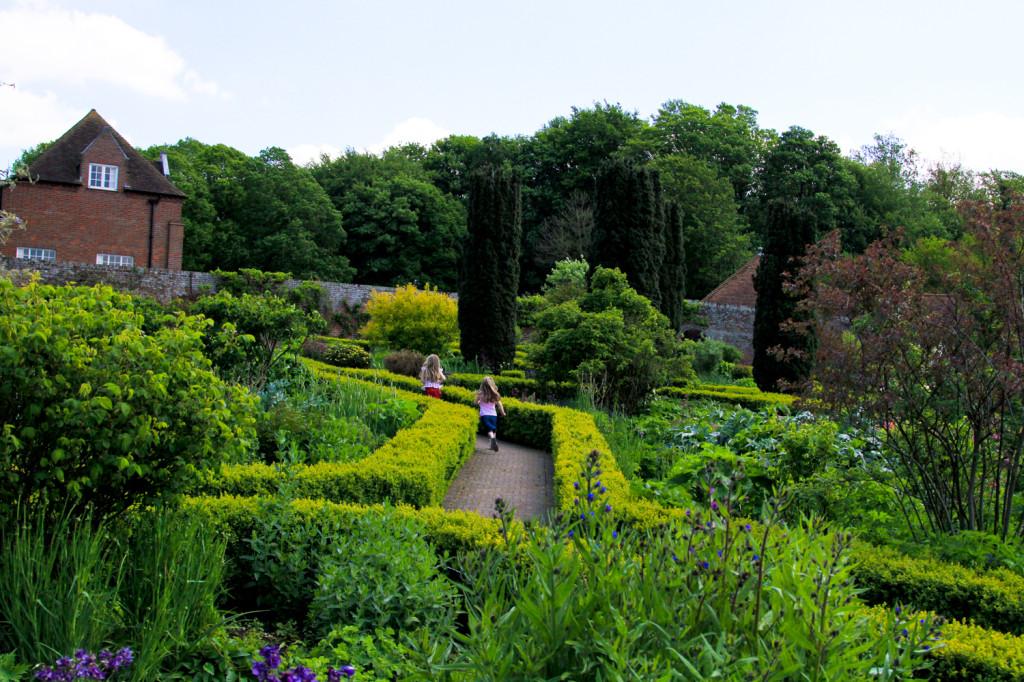 Garden Maze at Leed's Castle