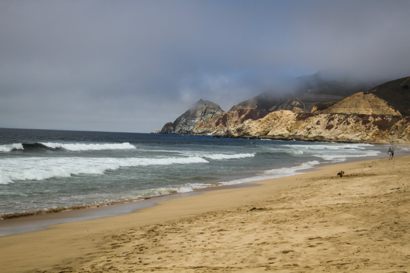 Montara State Beach half moon bay