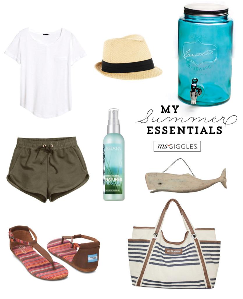 msgiggles-summer-essentials